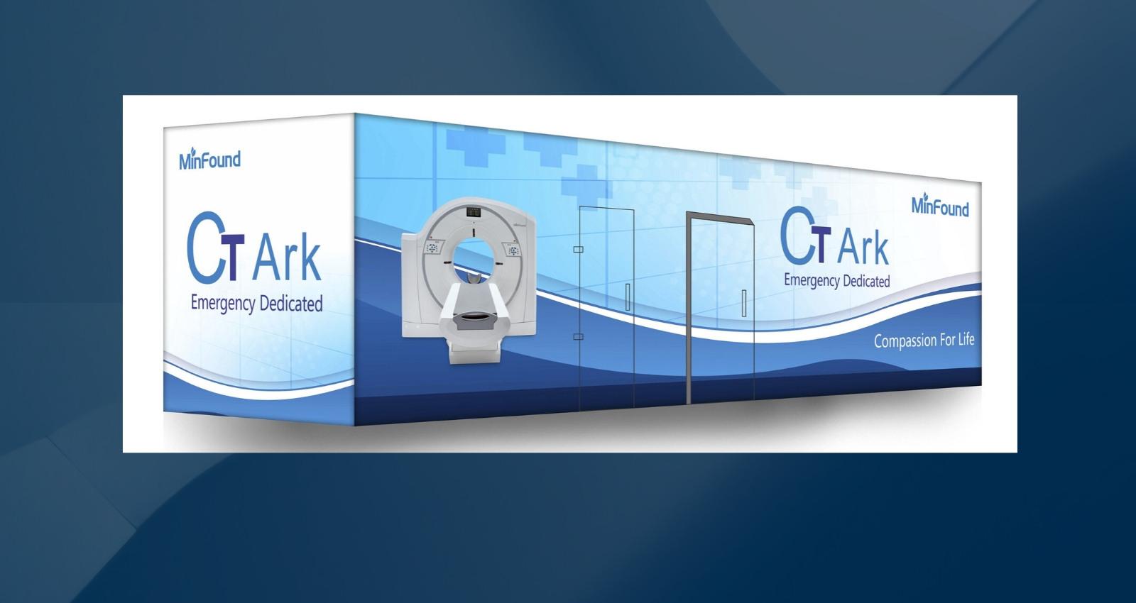 Equipo tomografía móvil tipo container